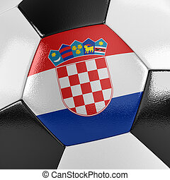 croácia, bola futebol