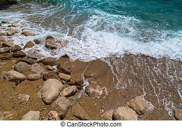croácia, praia, sulista, dalmatia, verão