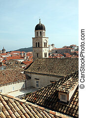 croatia, 都市, dubrovnik, 古い, 修道院, franciscan