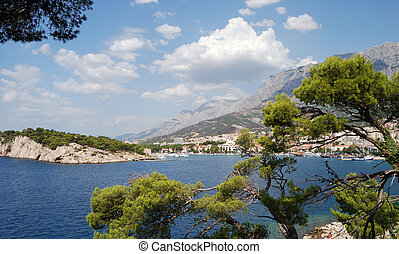 Croatia, Dalmatia, Makarska riviera