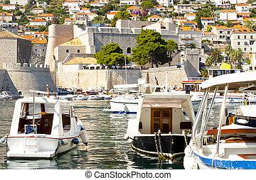 Dubrovnik old town.