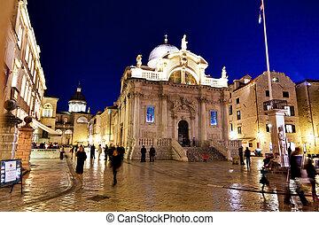 croatia, dubrovnik, st. blaise church - the city of...