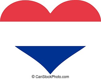 Croatia flag heart