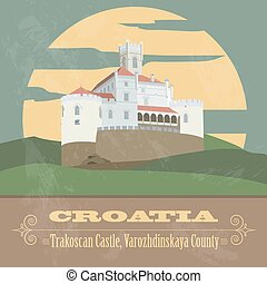 Croatia infographics, statistical data, sights. Vector ...