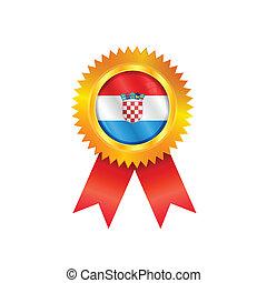 Croatia medal flag