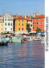 Rovinj - Croatia - Rovinj on Istria peninsula. Typical...