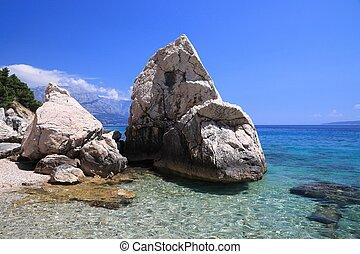 Croatia summer landscape