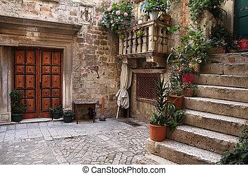 Croatia - Trogir in Dalmatia (UNESCO World Heritage Site)....