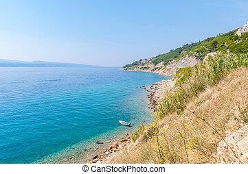 croatian , βάρκα , ακτή