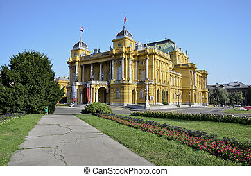 Croatian National Theater, Zagreb 3