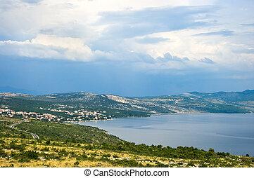 Croatian seashore