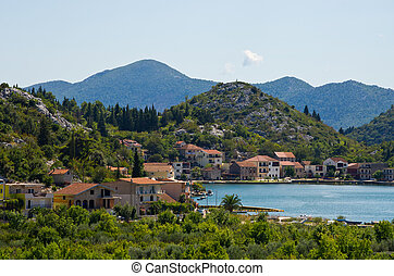 Croatian town in Neretva valley