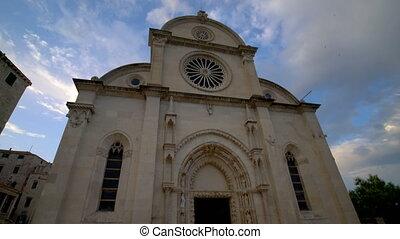 croatie, james st, cathédrale, sibenik