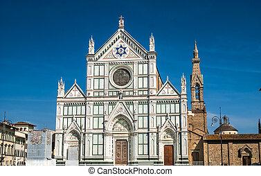 croce, フィレンツェ, イタリア, santa