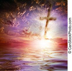 croce, contro, il, cielo