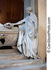 croce., gino, -, capponi, santa, 墓, フィレンツェ