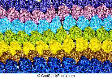 Crochet background