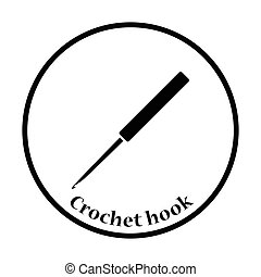 Crochet hook icon