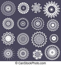 crocheted, blöjor, openwork