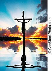 crocifissione, cristo, gesù