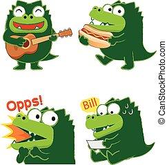 Crocodile Acting 01