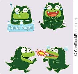 Crocodile Acting 02