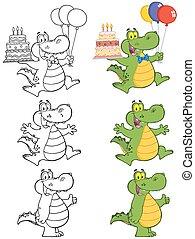 crocodile, caractère, 3., collection