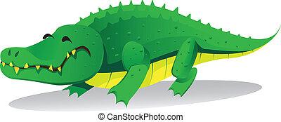 crocodile - cute crocodille