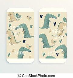 Crocodile design,