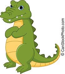 Crocodile dessin anim crocodile vide dessin anim clipart vectoriel rechercher - Dessin anime crocodile ...