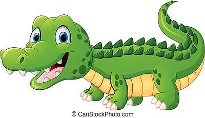 Illustration vecteur de crocodile dessin anim csp34836925 recherchez des cliparts des - Dessin anime crocodile ...