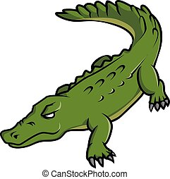 Crocodile Illustration Design