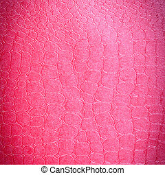 Crocodile leather Pink color with colorful background