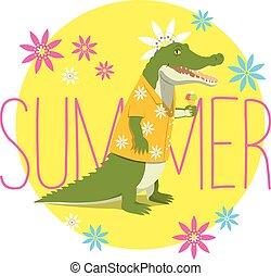 crocodile summer