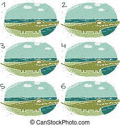 Crocodile Visual Game
