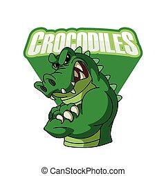 crocodiles illustration design
