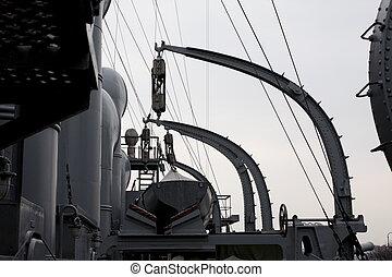 croiseur, aurore