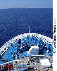 croisière bateau, arc
