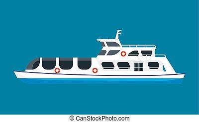 croisière bateau, océan