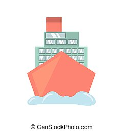 croisière bateau, voyage, océan vacances