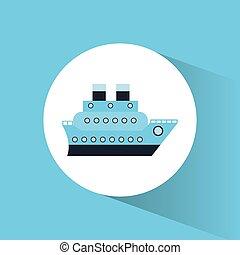 croisière bateau, voyage, vacances