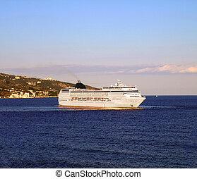 croisière luxe, bateau
