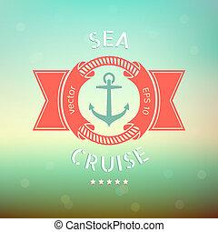 croisière, mer