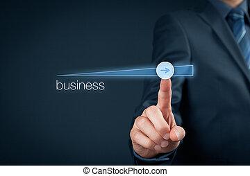 croissance, accélérer, business