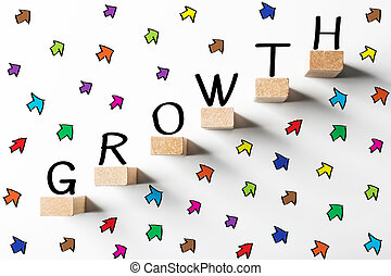 croissance affaires, concept