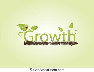croissance, concept