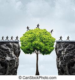 croissance, occasion, business