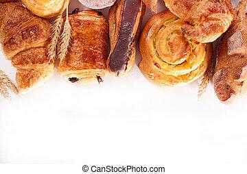 croissant, assortito
