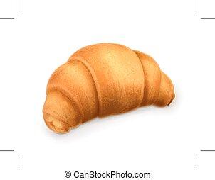 Croissant illustration - Croissant, illustration, isolated ...