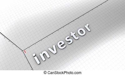 croissant, -, investisseur, diagramme